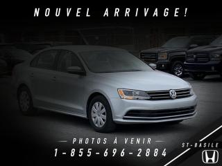 Used 2015 Volkswagen Jetta JETTA for sale in St-Basile-le-Grand, QC