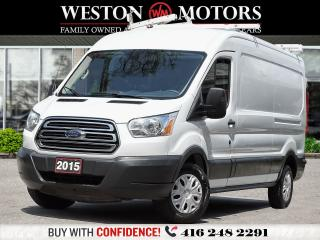 Used 2015 Ford Transit 250 3DR*LWB*MED ROOF*SLIDING PASS DOOR!!* for sale in Toronto, ON