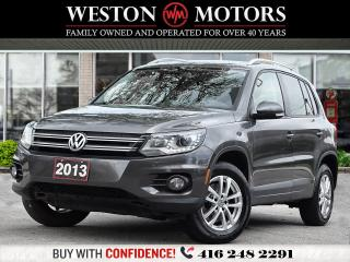 Used 2013 Volkswagen Tiguan S*2.0*TSI*LEATHER*PWR GRP!!*TOP OF THE LINE!!* for sale in Toronto, ON