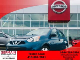 Used 2015 Nissan Micra Sv - Cruise for sale in Donnacona, QC