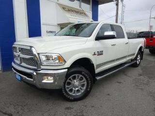 Used 2017 RAM 3500 Laramie 4x4, Crew 8 Ft. Long Box Diesel, One Owner for sale in Langley, BC