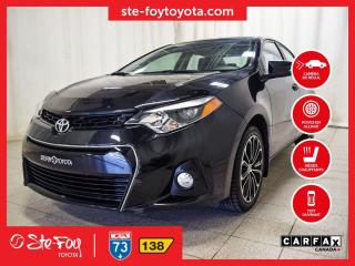Used 2016 Toyota Corolla S T.ouvrant, Roue En for sale in Québec, QC