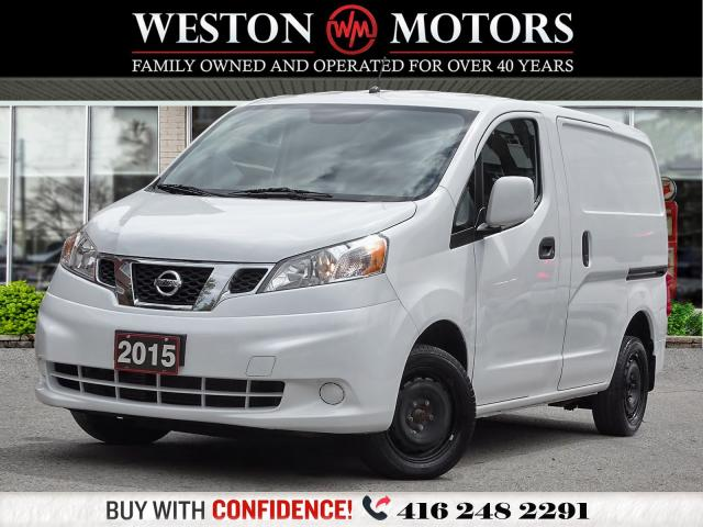 2015 Nissan NV200 S*WOOD SHELVING*READY FOR WORK!!*WOW LOW KM!!*