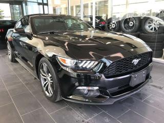 Used 2017 Ford Mustang ACCIDENT FREE, PADDLE GEAR SHIFTS, KEYLESS IGNITION for sale in Edmonton, AB