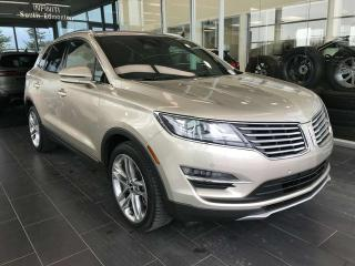 Used 2015 Lincoln MKC POWER HEATED/VENTED LEATHER SEATS, NAVI, KEYLESS IGNITION for sale in Edmonton, AB