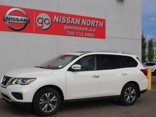 Used 2019 Nissan Pathfinder SL/AWD/LEATHER/PANO ROOF/NAV for sale in Edmonton, AB