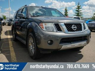 Used 2008 Nissan Pathfinder LE V8/LEATHER/SUNROOF/AC/ for sale in Edmonton, AB