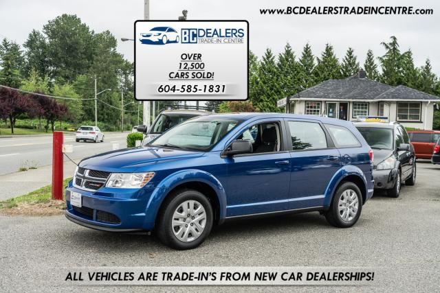 2015 Dodge Journey Canada Value Pkg, Only 76k, 4-Cyl!