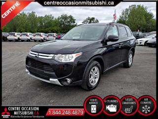 Used 2015 Mitsubishi Outlander SE 4X4 7 PLACES + V6 for sale in Blainville, QC