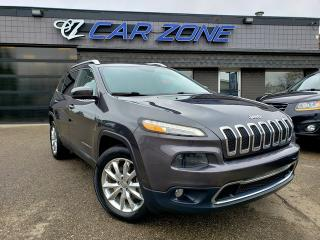 Used 2016 Jeep Cherokee Limited V6 NAVI PANOROOF for sale in Calgary, AB