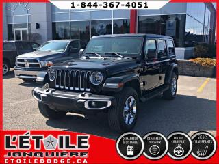Used 2018 Jeep Wrangler SAHARA 4x4 DEMONSTRATEUR DEMARREUR A DIS for sale in Jonquière, QC