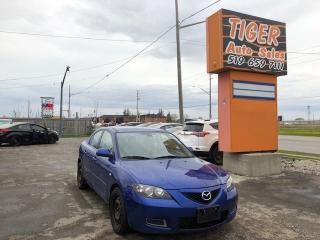 Used 2008 Mazda MAZDA3 GS**ONLY 158 KMS**RUNS GREAT**AS IS SPECIAL for sale in London, ON