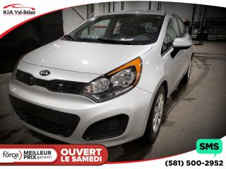 Used 2015 Kia Rio Lx+ Bluetooth A/c for sale in Québec, QC