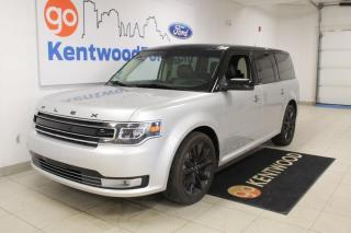 Used 2019 Ford Flex Limited | AWD | leather | Sunroof | Third Row! for sale in Edmonton, AB