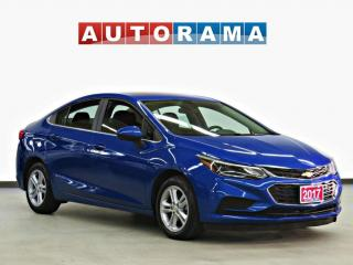 Used 2017 Chevrolet Cruze LT BACK UP CAMERA ALLOY WHEELS SATELLITE RADIO for sale in Toronto, ON