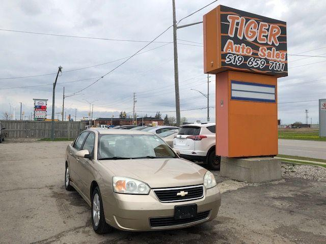 2006 Chevrolet Malibu LT**ONLY 123 KMS**RUNS GREAT**AS IS SPECIAL