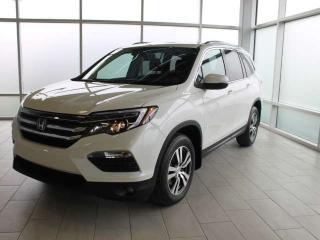 Used 2017 Honda Pilot EXLNAVI for sale in Edmonton, AB