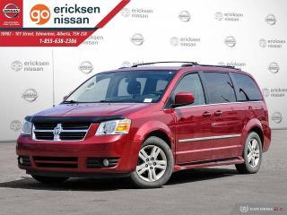 Used 2010 Dodge Grand Caravan SXT: POWER SLIDING DOORS, REMOTE STARTER for sale in Edmonton, AB