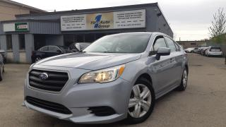 Used 2015 Subaru Legacy 2.5i w/Backup Cam for sale in Etobicoke, ON