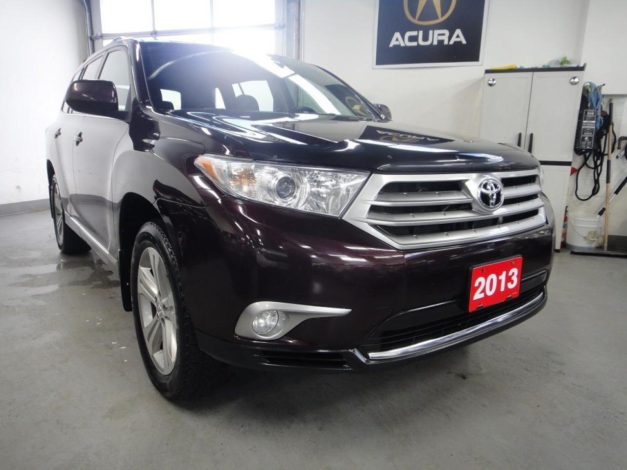 2013 Toyota Highlander DEALER MAINTAIN,NO ACCIDENT