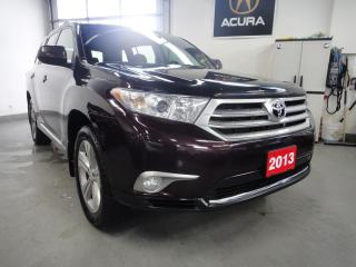 Used 2013 Toyota Highlander DEALER MAINTAIN,NO ACCIDENT for sale in North York, ON