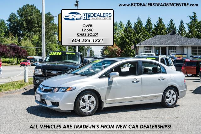 2010 Honda Civic Sport Sedan, Power Sunroof, 163k, Local, Alloys!