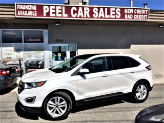 Used 2016 Ford Edge SEL|PANORAMA ROOF|BACK-UP CAMERA|LEATHER SEATS for sale in Mississauga, ON