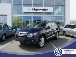 Used 2017 Volkswagen Tiguan Comfortline - Leather - Sunroof - Pristine Condition for sale in Hebbville, NS