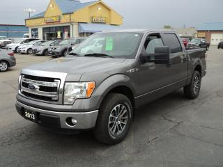 Used 2013 Ford F-150 XLT SuperCrew 4x2 5.0L 5.5ft Box for sale in Brantford, ON