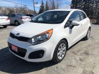 Used 2013 Kia Rio LX for sale in Stouffville, ON