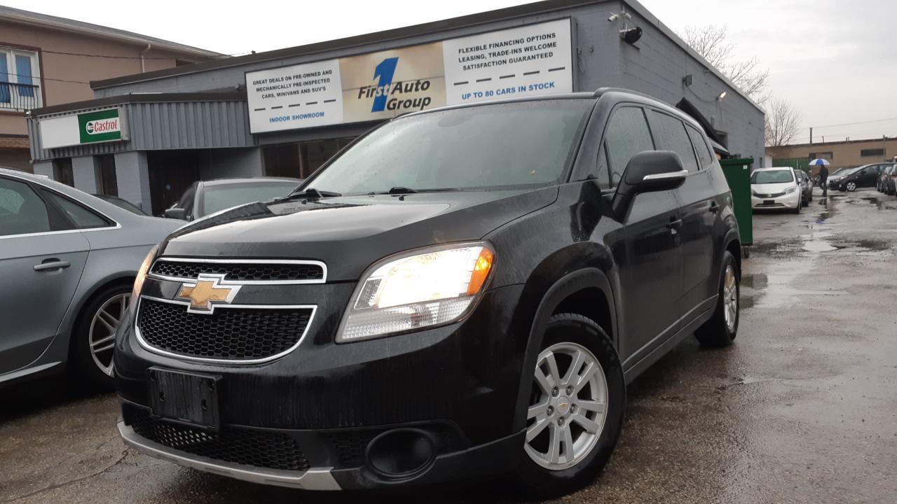 Photo of Black 2014 Chevrolet Orlando