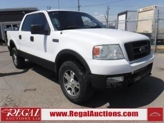 Used 2004 Ford F-150 XLT 4D SUPERCREW 4WD for sale in Calgary, AB