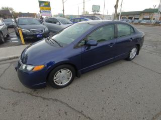 Used 2007 Honda Civic EXCELLENT CONDITION/ONLY 160 KMS! for sale in Hamilton, ON
