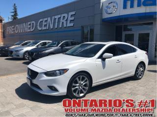 Used 2014 Mazda MAZDA6 GT-NAV,BACKUP CAM/LEATHER/SUNROOF!!! for sale in Toronto, ON