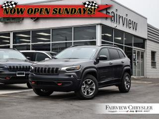 Used 2019 Jeep Cherokee Trailhawk 4x4   Pano Roof   Leather Seats for sale in Burlington, ON