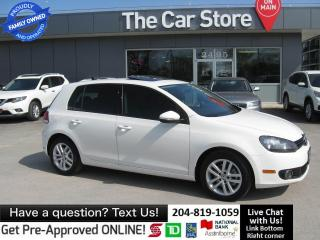 Used 2011 Volkswagen Golf Highline DIESEL leather SUNROOF htd seat BLUETOOTH for sale in Winnipeg, MB