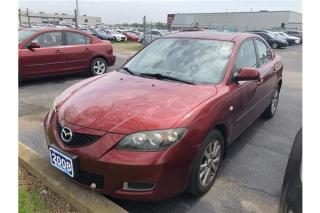 Used 2008 Mazda MAZDA3 GS for sale in Burlington, ON