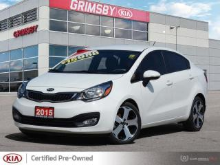 Used 2015 Kia Rio SX for sale in Grimsby, ON