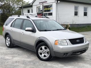 Used 2007 Ford Freestyle No-Accidents SEL AWD 6 Pass Power Group A/C Cruise for sale in Sutton, ON