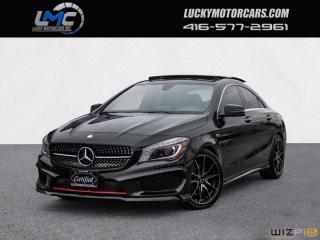Used 2016 Mercedes-Benz CLA250 4MATIC AMG SPORT PERFORMANCE PKG-PANOROOF-BACKUP CAMERA-LEDS for sale in North York, ON