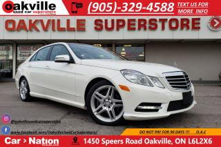Used 2013 Mercedes-Benz E-Class E 350 4MATIC | NAVI | B/U CAM | PANO ROOF | LED for sale in Oakville, ON