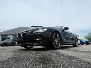 Used 2012 BMW 6 Series 650i- CONVERTIBLE- RED LEATHER INTERIOR- FLAWLESS CAR for sale in Essex, ON