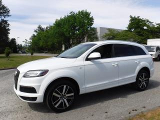 Used 2011 Audi Q7 TDI Quattro Premium Diesel with 3rd row seating for sale in Burnaby, BC