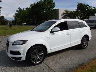 Used 2011 Audi Q7 S-Line Quattro TDI Diesel 3rd row seating for sale in Burnaby, BC