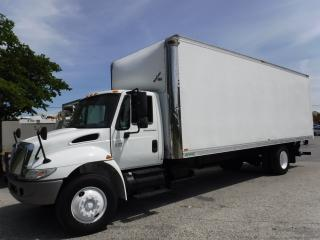 Used 2006 International 4300 Cube Van Diesel 26 foot With Power Tailgate And Air Brakes for sale in Burnaby, BC