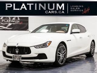Used 2016 Maserati Ghibli S Q4 SPORT, PREMIUM, LUXURY, NAVI, CAM for sale in Toronto, ON