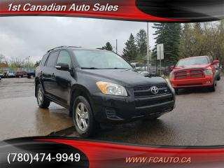 Used 2009 Toyota RAV4 V6-4X4-LOW KM-LOW Monthly PAYMENTS!! for sale in Edmonton, AB