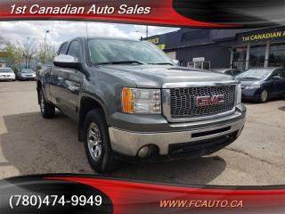 Used 2011 GMC Sierra 1500 SLE-4X4-NO ACCIDENTS-LOW Monthly PAYMENTS!! for sale in Edmonton, AB
