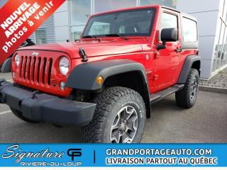 Used 2016 Jeep Wrangler MAG RUBICON *2 TOITS *TERAFLEX 2 POUCES* for sale in Rivière-Du-Loup, QC