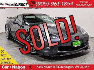 Used 2010 Chevrolet Corvette ZR1| 638 HP| VERY RARE| LOW KM'S| for sale in Burlington, ON